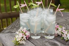 DIY swizzle sticks for drinks...