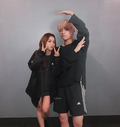 Taehyung x Jisoo Ulzzang Couple, Ulzzang Girl, Kpop Couples, Cute Couples, Bts Taehyung, Jimin, Bts Girl, Blackpink Memes, Korean Couple