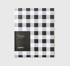 Catalogo per la linea Platea di Frigerio Living, la collezione di chiusure vetrate pieghevoli o a scorrimento, unisce le fotografie ai disegni tecnici