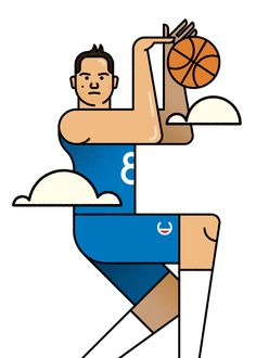 Behance :: Danilo Gallinari by Stefano Marra