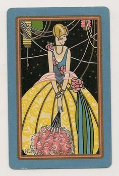 Swap Playing Cards 1 Single Deco Lady Named Coy | eBay