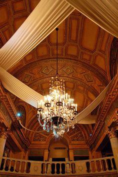 State Theatre lobby, via Flickr.Detroit Michigan