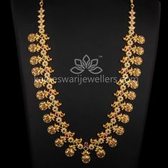 Silver Necklace With Gemstones Gold Temple Jewellery, Gold Wedding Jewelry, Gold Jewellery Design, Gold Jewelry, Gold Necklace, India Jewelry, Indian Bridal Jewelry Sets, Bridal Jewellery, Necklace Online