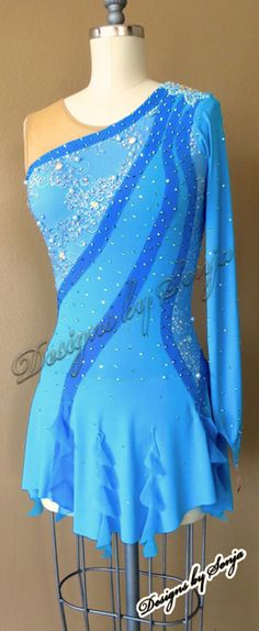 Figure Skating Dresses, Tampa Bay, Page Design, Costume Design, Custom Made, Skate, Designer Dresses, Florida, Costumes