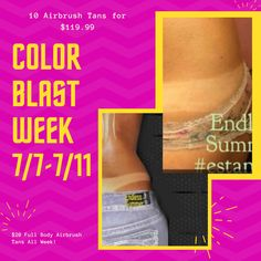 July 2020 Airbrush Tanning, Cincinnati, Full Body, Summer, Color, Summer Time, Colour, Total Body Workouts, Colors
