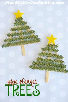 Pipe Cleaner Christmas Tree   Kid Craft