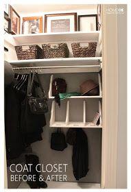 Home Made by Carmona: Coat Closet Reveal