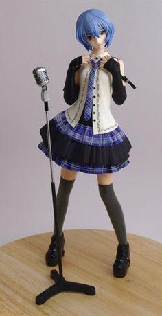 Rei Ayanami, Anime Figurines, Neon Genesis Evangelion, Ship Art, Pose Reference, Action Figures, Kawaii, Photoshoot, Poses