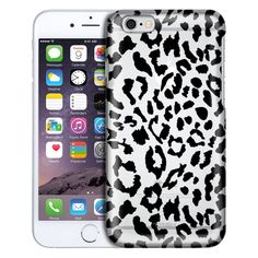 Apple iPhone 6 Black Cheetah Case