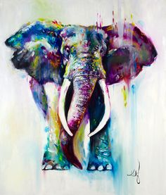 Katy Jade Dobson 'His Majesty' Oil Painting - The Spectrum Collection