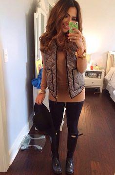 Alexandrea Garza fall fashion