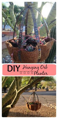 DIY Hanging Orb Plan