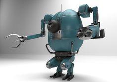 PBR Detailed Robot | 3D model
