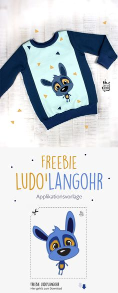 Kostenlose Applikationsvorlage LUDO'LANGOHR - The most beautiful children's fashion products Sewing Baby Clothes, Sewing Pants, Designer Baby Clothes, Cute Baby Clothes, Sewing For Kids, Free Sewing, Sewing Ideas, Sewing Projects, Baby Outfits