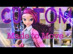 DIY - How to Make: Custom Made to Move Shopkins Shoppie PLUS Star Darlings Doll - 4K - YouTube