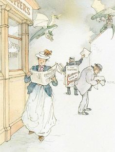 Lisbeth Zwerger illustrates The Deliverers of Their Country