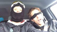 Jamie Nicholls and Shaun White.
