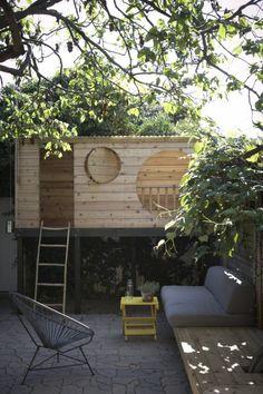 Modern simple playhouse