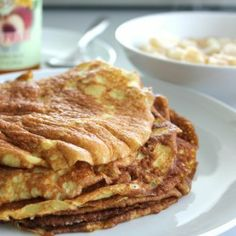 Almond Flour Crepes with Pear Filling