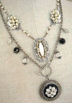 My Salvaged Treasures: Repurposed Jewelry