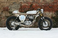 Yamaha SR 500 by Motorradtke GbR