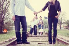 railroad family photos