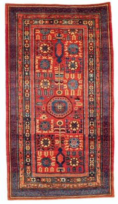 Rippon Boswell's major spring auction 'Collectors Carpets' will take place Saturday 25 May 2013 at in Wiesbaden, Germany. This auction includes 257 lots and among them antique tribal rugs, carpets, bags, suzanis and kilims from all major rug areas. Textile Patterns, Textile Prints, Textile Art, Tibetan Rugs, Magic Carpet, Tribal Rug, Kilim Rugs, Rugs On Carpet, Bohemian Rug