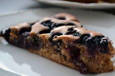 Fotorecept: Špaldový čučoriedkový koláč