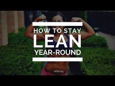 How To Stay Lean Year-Round | Danyelle Mastarone | HMB