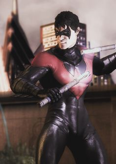 Injustice Nightwing New 52 :) I love this game!