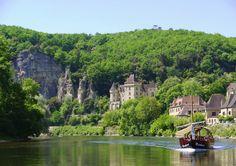 De prachtige natuur van de Dordogne in Frankrijk