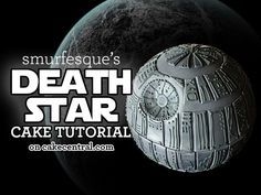 This Death Star cake was so much fun to make that you just won't know when to stop decorating! It is made from a dark chocolate...