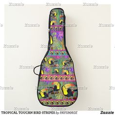 Guitar Gifts, Guitar Case, Sling Backpack, Personalized Gifts, Create Your Own, Cases, Design, Toco Toucan, Guitar