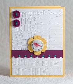 My Paper Tales: cqc #206 ~ A Little Birdie Told Me!