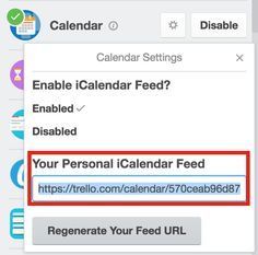 Add Trello to Google Calendar