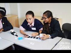Girls Learn To Program With Sphero - Little Miss Geek
