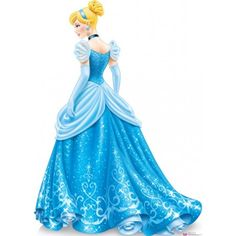 Cinderella Royal Debut Lifesize Standup