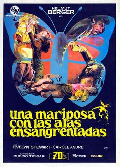 'A Bloodstained Butterfly' (1971) giallo