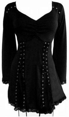 b083c0bc6e6 Dare To Wear Gothic Victorian Women s Plus Size Electra Corset Top Raven