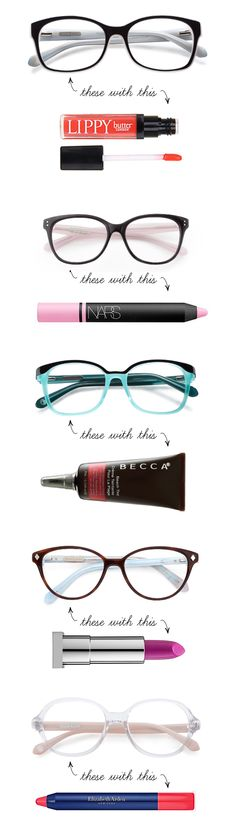 81ab405c4f03 Makeup for Glasses  Spring 2014 Lipstick Trends