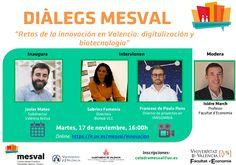 Reptes de la innovació a València: digitalització i biotecnologia Valencia, November 17, Professor, Day Planners