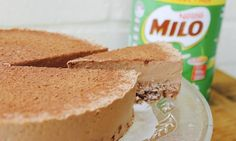 Creamy, malty and with a chocolate crackle base, this Milo cheesecake is dangerously decadent.