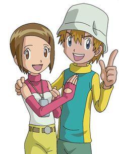 takeru and hikari fanfiction Digimon 02, Digimon Seasons, Digimon Adventure Tri, Hope Light, Gatomon, Kids In Love, Digimon Digital Monsters, Otaku, Cartoon Tv Shows