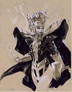 Storm asgardian by Peter-v-Nguyen.deviantart.com on @deviantART