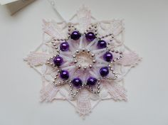 Ornaments for Ponikla Star - Yumiko Kotálová - Vánoční ozdoby. Hvězda a ozdoba z Poniklé - 20141214