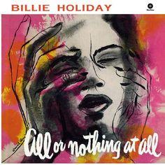 art work of Billie Holiday