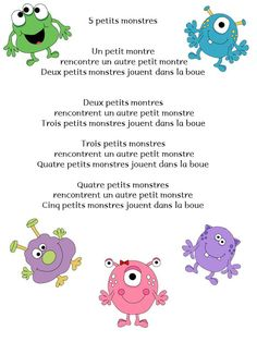 I cant read Spanish but its probably about germs. the little monsters are cute French Teaching Resources, Teaching French, Monster Crafts, Theme Halloween, Project 3, Ms Gs, Sunday School, Preschool, Activities