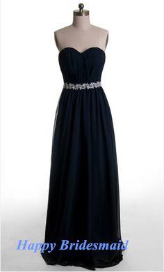 108.00$  Watch here - http://viwuy.justgood.pw/vig/item.php?t=8yy6q144808 - Long Prom Dress, Navy Long Prom Dress, Chiffon Prom Dress, Floor Length Dresses
