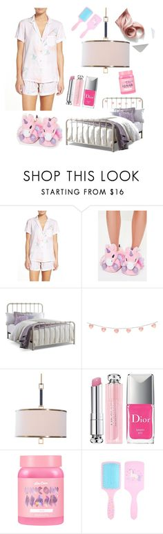 """Baby pink"" by dessyaramadhanti ❤ liked on Polyvore featuring Plum Pretty Sugar, Missguided, Christian Dior and Lime Crime"