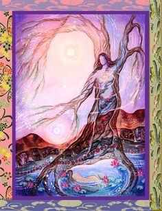 Reach deep into your roots; this is where manifestation originated. http://innerspiritrhythm.com/ Like ✔ Share ✔ Comment ✔ The Visionary Art of Willow Arlenea